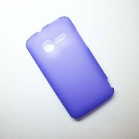 Силиконовый чехол Becolor Purple Mat для Alcatel One Touch TPOP 4010D
