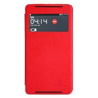 Кожаный чехол Nillkin V-Series Red для Lenovo IdeaPhone S930