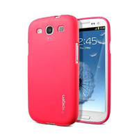 Силиконовый чехол SGP Case Modello Series Red для Samsung i9300 Galaxy S3