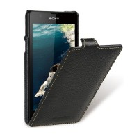 Кожаный чехол Melkco Leather Case Black LC для Sony Xperia ZR M36h