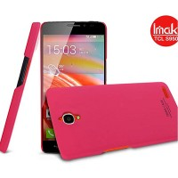 Пластиковый чехол Imak Hard Case Red для Alcatel One Touch Idol X 6040