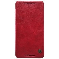 Кожаный чехол Nillkin Qin Leather Case Red для HTC One E9/One E9 Plus