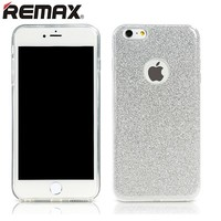 Силиконовый чехол Remax Glitter Series Silver для Apple iPhone 6/6S