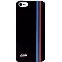 Пластиковый чехол BMW M-Collection (BMHCP5MB) Black для Apple iPhone 5/5S/5SE