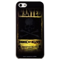 Пластиковый чехол Mastermind Japan Wanted для Apple iPhone 5/5S/5SE