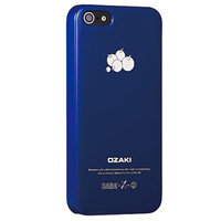 Пластиковый чехол Ozaki O!coat-Fruit Blueberry (OC537BB) для Apple iPhone 5/5S/5SE