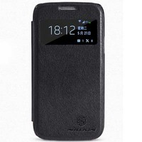 Кожаный чехол Nillkin Stylish Leather Case Black для Samsung i9190 Galaxy S4 mini