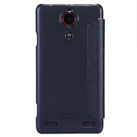 Полиуретановый чехол Nillkin Sparkle Leather Case Black  для ZTE Nubia Z5S