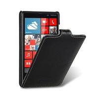 Кожаный чехол Melkco Leather Case Black LC для Nokia Lumia 820