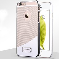 Пластиковый чехол Usams E-Planting Series Silver для Apple iPhone 6 Plus/6s Plus