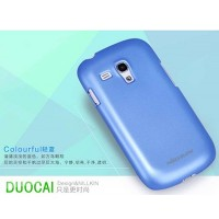 Пластиковый чехол Nillkin Multi-Color Series Blue для Samsung i8190 Galaxy S3 mini