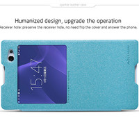 Полиуретановый чехол Nillkin Sparkle Leather Case Ocean для Sony Xperia C3 S55t