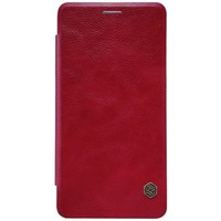 Кожаный чехол Nillkin Qin Leather Case Red для Xiaomi Mi5S Plus