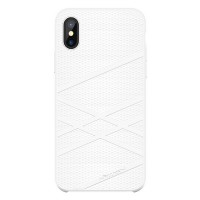 Силиконовая накладка Nillkin Flex Case White для Apple iPhone X/ iPhone XS