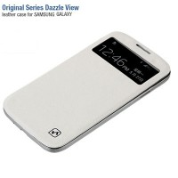 Крышка-книжка HOCO Original Series Duzzle View White для Samsung i9500 Galaxy S4