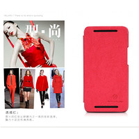 Кожаный чехол Nillkin Fashion Series Red для HTC One M7