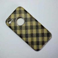 Пластиковый чехол Hardshell Case Burberry View 3 для Apple iPhone 4/4S