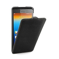 Кожаный чехол TETDED Troyes Case Black для Lenovo IdeaPhone S930