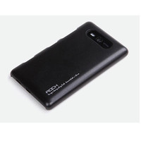 Пластиковый чехол Rock New Naked Shell Series Black для Nokia Lumia 820