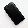 Кожаный чехол Armor Case Black для Alcatel One Touch M POP 5020D(#1)