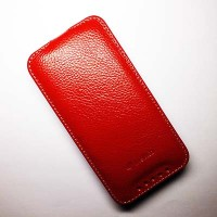 Кожаный чехол Melkco Leather Case Red LC для HTC Desire 601/Zara