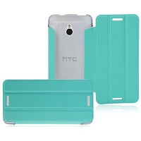 Полиуретановый чехол Baseus Folio Series Light Green для HTC One mini/M4