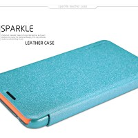 Полиуретановый чехол Nillkin Sparkle Leather Case Ocean для Nokia Lumia 530