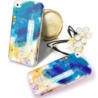 Пластиковый чехол Baseus Utopia Case Bustling City для Apple iPhone 4/4S