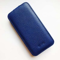 Кожаный чехол Sipo V Series Dark Blue для Samsung G800F Galaxy S5 mini