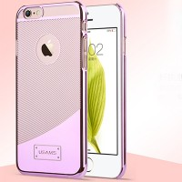 Пластиковый чехол Usams E-Planting Series Pink для Apple iPhone 6 Plus/6s Plus