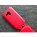 Кожаный чехол Armor Case Red для Samsung i8190 Galaxy S3 mini(#4)