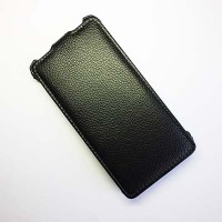 Чехол книга Armor Case Black для Alcatel One Touch Idol 6030X