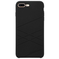 Силиконовая накладка Nillkin Flex Case Black для Apple iPhone 7 Plus/iPhone 8 Plus