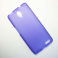 Силиконовый чехол Becolor Purple Mat для Alcatel One Touch Idol X 6040