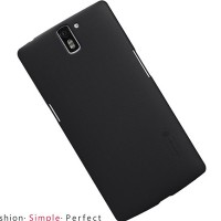Пластиковый чехол Nillkin Super Frosted Shield Black для OnePlus One A0001