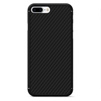Пластиковый чехол Nillkin Synthetic Fiber Black (черный) для Apple iPhone 7 Plus/iPhone 8 Plus