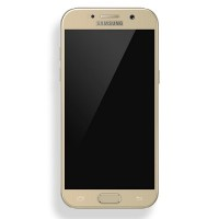 Защитное стекло Aiwo Full Screen Cover 0.33 mm Gold для Samsung A520F Galaxy A5 (2017)