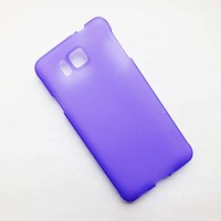 Силиконовый чехол Becolor Purple Mat для Samsung G850 Galaxy Alpha