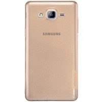 Силиконовый чехол Nillkin Nature TPU Case Brown для Samsung Galaxy On7