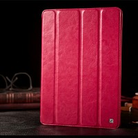 Кожаный чехол HOCO Crystal leather Case Pink для Apple iPad Air