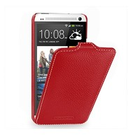 Кожаный чехол Melkco Leather Case Red LC для HTC One M7