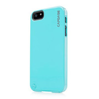 Силиконовый чехол Capdase Polimor Jacket Blue для Apple iPhone 5/5S/5SE