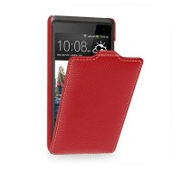 Кожаный чехол Melkco Leather Case Red LC для HTC Desire 600 Dual