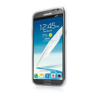 Силиконовый чехол Capdase Soft Jacket White для Samsung N7100 Galaxy Note 2