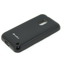 Силиконовый чехол Melkco Poly Jacket TPU Case Black для Nokia Lumia 620