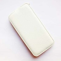 Кожаный чехол Armor Case White для Samsung G850 Galaxy Alpha