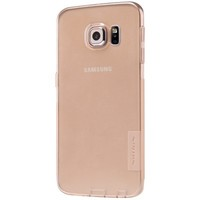 Силиконовый чехол Nillkin Nature TPU Case Brown для Samsung G925F Galaxy S6 Edge