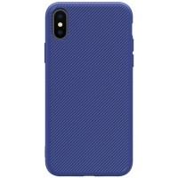 Гибридный чехол Nillkin Eton Case Blue для Apple iPhone X/ iPhone XS