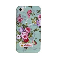 Пластиковый чехол Cath Kidston Flowers Light Green для Apple iPhone 4/4S