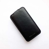 Кожаный чехол Armor Case Black для Samsung G130H Galaxy Young 2